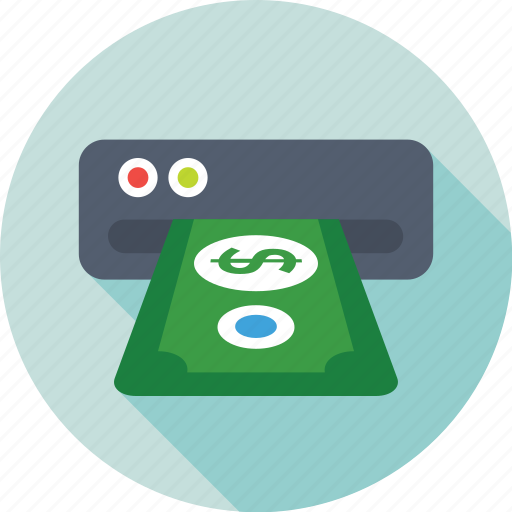 Atm, banking, cash withdrawal, transaction, withdrawal slot icon - Download on Iconfinder