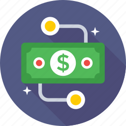 banking, banknotes, currency, currency note, paper money icon