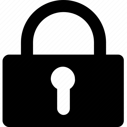 lock, padlock, private, safety, security icon