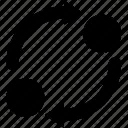 arrows, refresh, reload, sync, synchronization icon