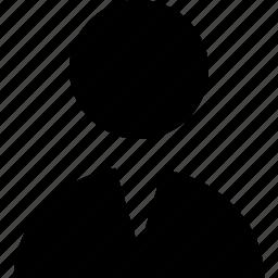 avatar, businessman, man, person, profile icon