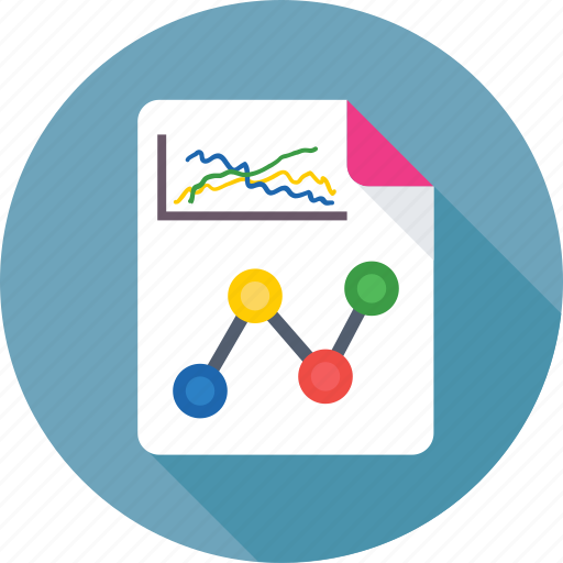 business analysis, business report, graph report, report, statistics icon
