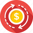 analysis, analytics, dollar, dollar value, finance icon
