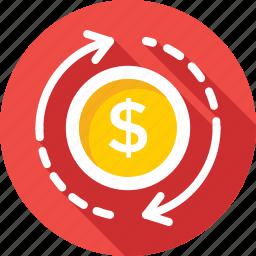 analysis, analytics, dollar, dollar value, finance icon