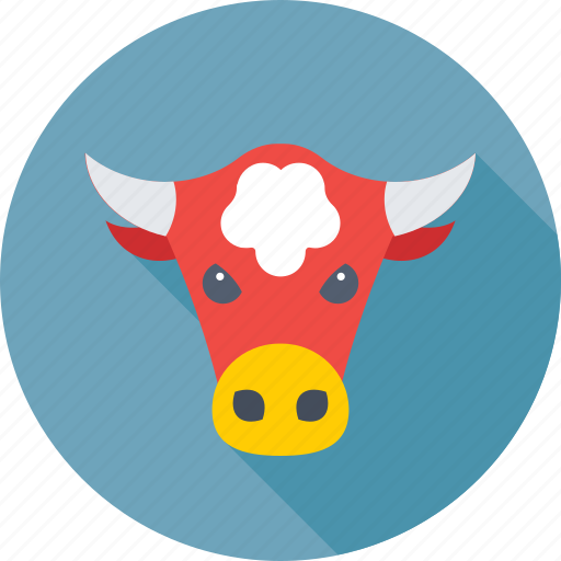 animal, bull, bull head, business, forex trading icon