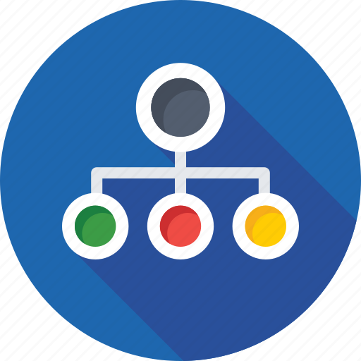 hierarchical network, hierarchy, network, sharing network, structure icon
