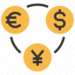 cash, coin, currency, dollar, exchance, finance, payment icon