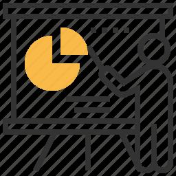 analysis, chart, diagram, financial, graph, report, statistics icon