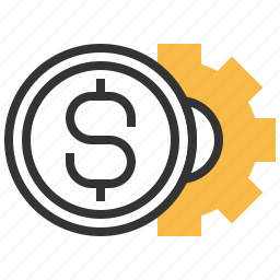 business, coin, currency, financial, money, payment, service icon