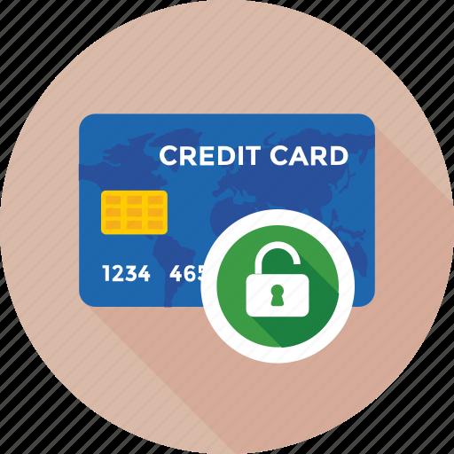 lock, protection, unlock, unlock card, unsafe icon