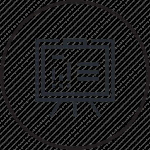 analysis, banking, finance, financial, graph, plan, strategy icon