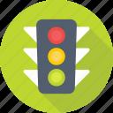 traffic lights, traffic semaphore, traffic lamps, signal lights, traffic signals icon