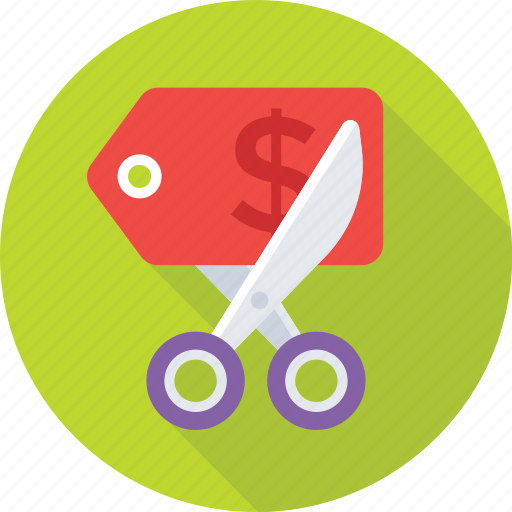 Cutting, expire tag, expired offer, sale, tag icon - Download on Iconfinder