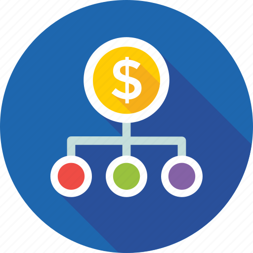 business hierarchy, currency, currency hierarchy, dollar, investment opportunities icon