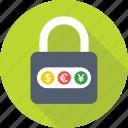 currency lock, dollar, euro, forex, forex currency, lock, padlock, trading, yen