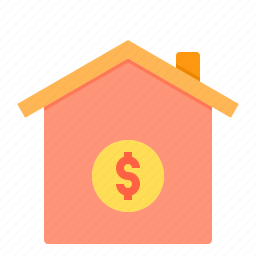 banking, business, finance, home, loan, payment icon