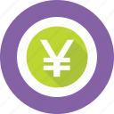 currency, japanese yen, yen, yen sign, yen value icon