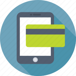 credit card, mobile banking, mobile transaction, online banking, online pay icon