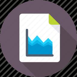 bar graph, finance report, graph analysis, graph report, sale report icon