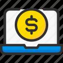 bank, banking, business, dollar, finance, laptop, pay