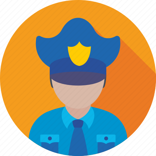 bodyguard, police, security, security guard, security officer icon