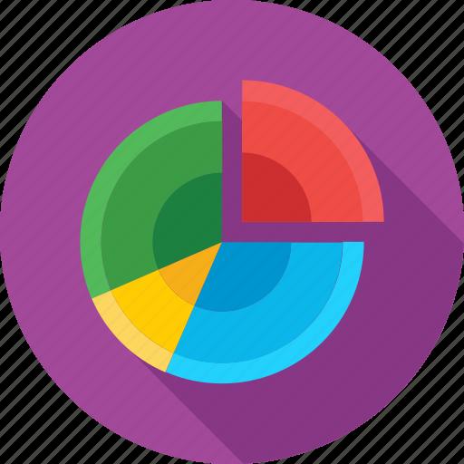 circular chart, infographic, pie chart, pie graph, statistics icon