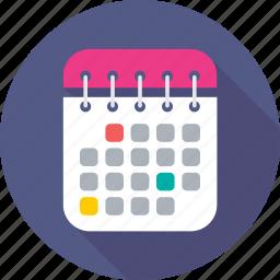 agenda, calendar, dollar, meeting, schedule icon