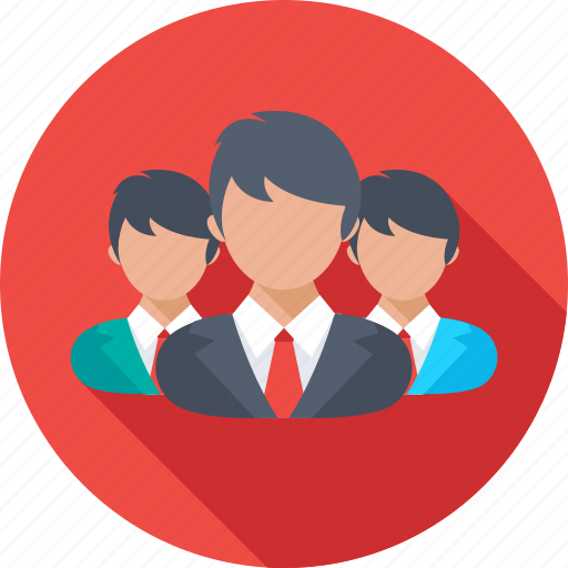 Collaboration, group, people, social media, team icon