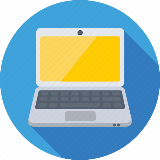 laptop, laptop pc, mac, notebook, personal computer icon