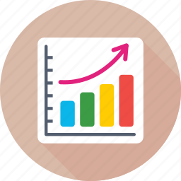business report, graph report, growth chart, profit, report icon
