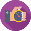 chronometer, referee, referee watch, stopwatch, timepiece icon