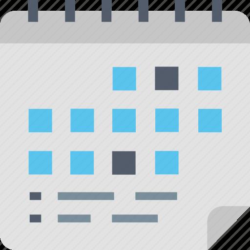 Financial, planner, calendar, date, finance, planning, schedule icon - Download on Iconfinder