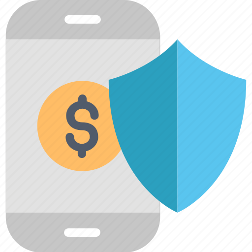 Mobile, security, banking, protection, safety, shield, smartphone icon - Download on Iconfinder