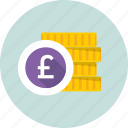 coins, coins stack, currency coins, pound coins, saving icon