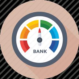 analog device, gauge, graph indicator, graph speedometer, indicator icon