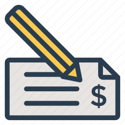 bankcheque, banking, cheque, chequebook, chequeicon, finance, payment icon