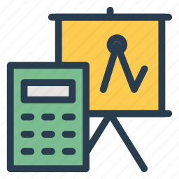 account, accountant, accounting, business, calculator, finance, responsibility icon