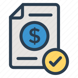 analytics, business, chart, check, finance, graph, report icon