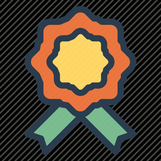 army, award, badge, label, medal, military, ribbon icon