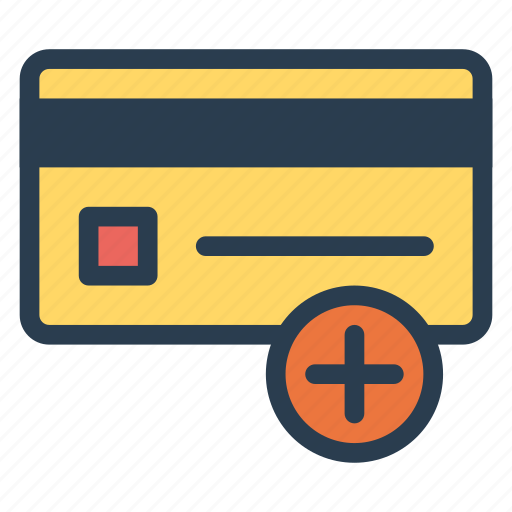 add, addtocart, card, credit, money, payment, plus icon