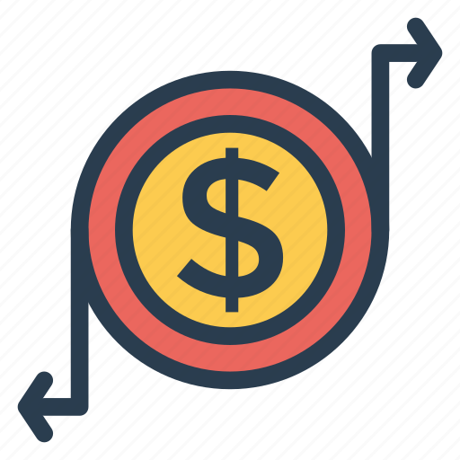 cash, coin, currency, finance, goldcoins, money, uscoins icon