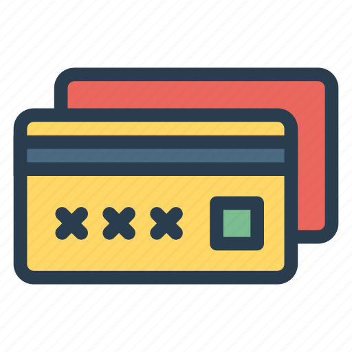 atmcard, card, casino, credit, debit, money, payment icon