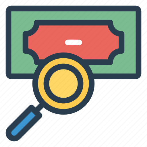 business, cash, currency, finance, find, money, payment icon