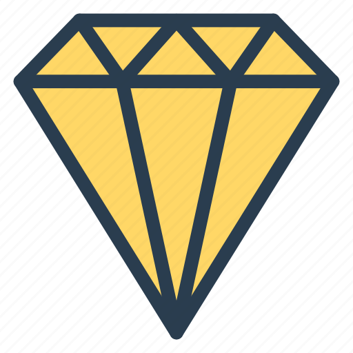 Crystal, diamond, gem, jewel, jewelry, quality, ring icon - Download on Iconfinder