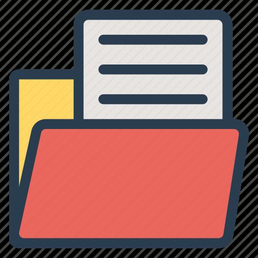 document, extension, filefolder, folder, format, openfilefolder, paper icon