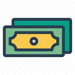 cash, currency, dollar, euromoney, finance, money, moneystack icon