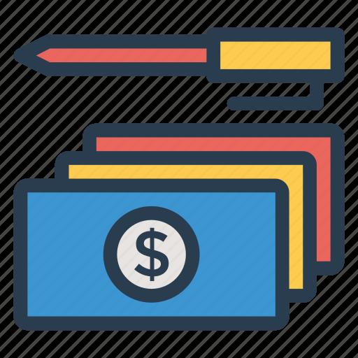 cash, currency, dollar, finance, money, moneystack, savemoney icon