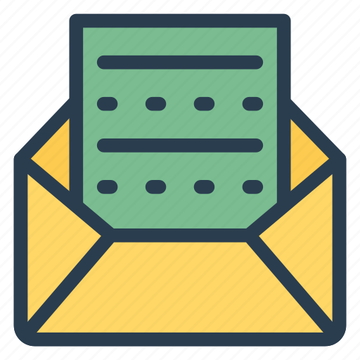 directmail, email, envelope, letter, message, openletter, openmail icon