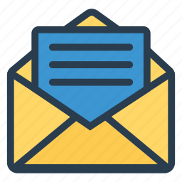 email, envelope, letter, mailbox, message, openletter, openmail icon