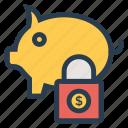 bank, finance, investment, money, piggy, savemoney, savings icon